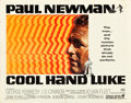 "Movie Posters:Drama, Cool Hand Luke (Warner Brothers, 1967). Half Sheet (22"" X 28"")....."