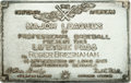Baseball Collectibles:Others, 1930's Roger Bresnahan Major League Baseball Silver Lifetime Pass....