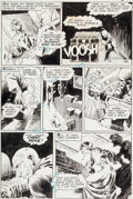 "Original Comic Art:Panel Pages, Bernie Wrightson The Unexpected #128 ""There's More Than One Way to Get Framed"" Page 7 Original Art (DC, 1971)...."