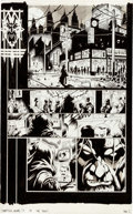 Original Comic Art:Panel Pages, Jerry Beck Something Wicked #3 Page 1 Original Art (Image,2004)....