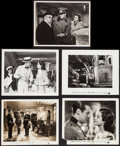 "Movie Posters:War, Night Train (20th Century Fox, 1940). Photos (9) (8"" X 10""). War..... (Total: 9 Items)"