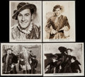 """Movie Posters:Swashbuckler, The Prince and the Pauper (Warner Brothers, 1937). Photos (4) (8"""" X10""""). Swashbuckler.. ... (Total: 4 Items)"""