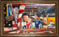 Hockey Collectibles:Others, 2004 Herb Brooks Original Oil Painting....