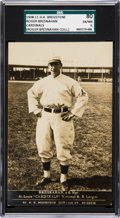 Baseball Cards:Singles (Pre-1930), Very Rare 1908-11 PC743 H. H. Bregstone RPPC Roger Bresnahan SGC 80EX/NM 6 - The Only Recorded Example! ...