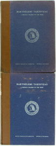Books:Biography & Memoir, Howard C. Rice. Barthélemi Tardiveau. A French Trader in theWest. Baltimore: Johns Hopkins, 1938. Two copies. Quart...(Total: 2 Items)