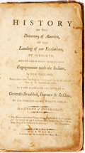 Books:Americana & American History, [Henry Trumbull] History of the Discovery ofAmerica...Norwich: Published for the author at his office,1811. Contem...