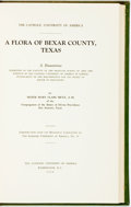 Books:Natural History Books & Prints, Mary Clare Metz. A Flora of Bexar County, Texas. Washington,D. C.: Catholic University of America, 1934. Original c...