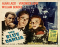 "Movie Posters:Film Noir, The Blue Dahlia (Paramount, 1946). Half Sheet (22"" X 28"") Style B....."