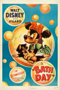 "Movie Posters:Animation, Bath Day (RKO, 1946). One Sheet (27.25"" X 41"").. ..."