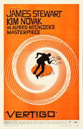 "Movie Posters:Hitchcock, Vertigo (Paramount, 1958). One Sheet (27"" X 41.5"").. ..."