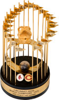 Baseball Collectibles:Others, 1975 Cincinnati Reds World Series Championship Trophy Presented to Terry Crowley....