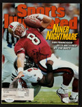 """Football Collectibles:Publications, Steve Young Signed """"Sports Illustrated"""" Magazine. ..."""