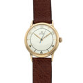 Timepieces:Wristwatch, Omega Automatic Gold 14k Gold Wristwatch. ...