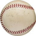 "Autographs:Baseballs, 1940 Charles ""Chief"" Bender Single Signed Baseball. ..."