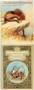 Books:Natural History Books & Prints, [Archibald Thorburn]. Thorburn's Naturalist's Sketchbook. London: Michael Joseph Limited, [1977]. [and:] Tho... (Total: 2 Items)