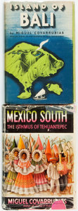 Books:Non-fiction, Miguel Covarrubias. Island of Bali. New York: Alfred A. Knopf, 1950. [and:] Mexico South: Isthmus of Tehuantepec... (Total: 2 Items)