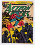 Golden Age (1938-1955):Superhero, Action Comics #53 (DC, 1942) Condition: GD....