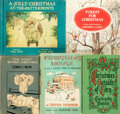 Books:Children's Books, [Children's Christmas Literature]. Group of Five Children's Booksabout Christmas. Various publishers and dates.... (Total: 5 Items)