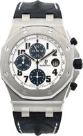 "Timepieces:Wristwatch, Audemars Piguet Ref. 26170ST ""Navy"" Royal Oak Offshore Chronograph, circa 2012. ..."