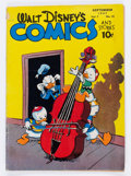 Golden Age (1938-1955):Funny Animal, Walt Disney's Comics and Stories #84 (Dell, 1947) Condition: VG....