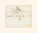 Autographs:Statesmen, [Republic of Texas]. Sam Houston Twice-Signed Document withSecretarially-Signed Book.... (Total: 2 Items)