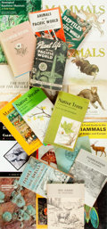Books:Natural History Books & Prints, [Wildlife.] Group of Twenty-One Books Relating to Insects, Plants, and Animal Life. Various publishers and dates.... (Total: 21 Items)