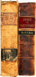 Books:Non-fiction, [Law.] William George. Handbook of the Law of Partnership.West Publishing Co., 1897. [with:] William Oldnall Russ... (Total:2 Items)