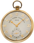 "Baseball Collectibles:Others, 1937 New York Yankees World Series Championship Pocket WatchPresented to Charles ""Red"" Ruffing...."