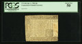 Colonial Notes:Connecticut, Connecticut July 1, 1780 40s PCGS About New 50.. ...