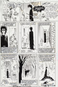 "Original Comic Art:Panel Pages, Jill Thompson Sandman V2#47 ""Brief Lives, Part 7"" Page 6Dream and Delirium Original Art (DC, 1993)...."