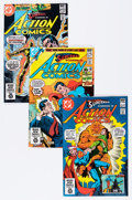 Modern Age (1980-Present):Superhero, Action Comics #523-635 Near-Complete Run Box Lot (DC, 1981-89)Condition: Average NM....