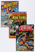 Silver Age (1956-1969):Science Fiction, Marvel Silver Age Monster Comics Group (Marvel, 1960s) Condition:Average FN-....