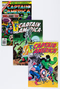 Modern Age (1980-Present):Superhero, Captain America Box Lot (Marvel, 1976-94) Condition: Average NM....