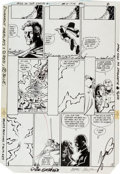 "Original Comic Art:Panel Pages, George Perez and Dick Giordano Crisis on Infinite Earths #1""The Summoning"" Page 8 with Overlay Original Art (DC, ... (Total: 2Original Art)"