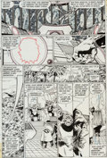 """Original Comic Art:Panel Pages, George Perez and Dick Giordano Crisis on Infinite Earths #1""""The Summoning"""" Page 13 Original Art (DC, 1985)...."""