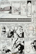 """Original Comic Art:Panel Pages, George Perez and Dick Giordano Crisis on Infinite Earths #1""""The Summoning"""" Page 20 Original Art (DC, 1985)...."""