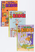 Bronze Age (1970-1979):Humor, Sad Sack and the Sarge/Sad Sack Comics File Copies Box Lot (Harvey,1970s) Condition: Average NM-....