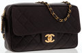 Luxury Accessories:Bags, Chanel Brown Quilted Lambskin Leather Camera Bag with Gold Hardware. ...