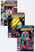 Modern Age (1980-Present):Superhero, Crisis on Infinite Earths #1-12 Complete Series Box Lot (DC,1985-86) Condition: Average NM-....