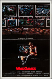 """WarGames & Others Box Lot (MGM/UA, 1983). One Sheets (137) (Approximately 27"""" X 41""""), Lobby Card Sets of 8..."""