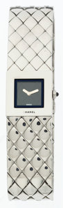 Luxury Accessories:Accessories, Chanel Stainless Steel Matalesse Watch. ...