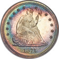 Proof Seated Quarters, 1871 25C PR68 NGC. Briggs 1-A....