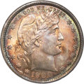 Barber Quarters, 1900 25C MS67 NGC. CAC....