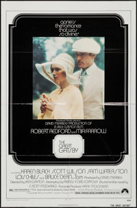 """The Great Gatsby & Others Lot (Paramount, 1974). One Sheets (90) (27"""" X 41""""), Lobby Card (11"""" X 1..."""