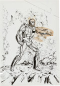 Original Comic Art:Covers, Bob Layton X-O Manowar #1 Cover Original Art (Valiant,1992)....