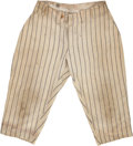 Baseball Collectibles:Uniforms, 1920's Lou Gehrig Game Worn New York Yankees Pants....