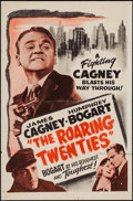 "Movie Posters:Crime, The Roaring Twenties (Warner Brothers, R-1950s). One Sheet (27"" X41""). Crime.. ..."