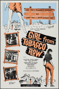 "Girl from Tobacco Row & Other Lot (Ormond, 1966). One Sheets (2) (27"" X 41""). Exploitation. ... (Total: 2..."