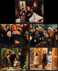 """Movie Posters:Drama, The Little Princess (20th Century Fox, 1939). Trimmed Deluxe LobbyCards (5) (8"""" X 10""""). Drama.. ... (Total: 5 Items)"""