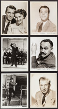 Movie Posters:Miscellaneous, Hollywood Photo Lot (Various, 1930s-1970s). Portrait and ScenePhotos (100+) (Various Sizes), & Press Materials (2).Miscell... (Total: 100 Items)